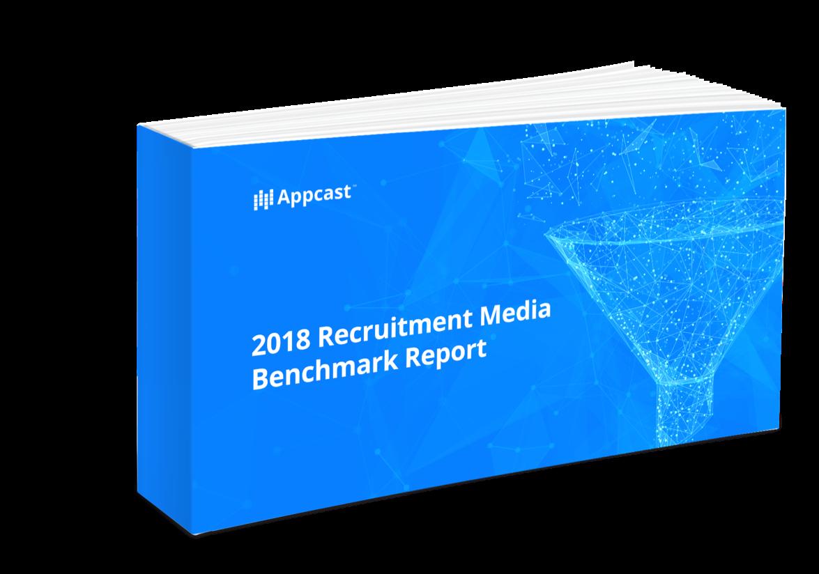 2018 Recruitment Media Benchmark Report Cover