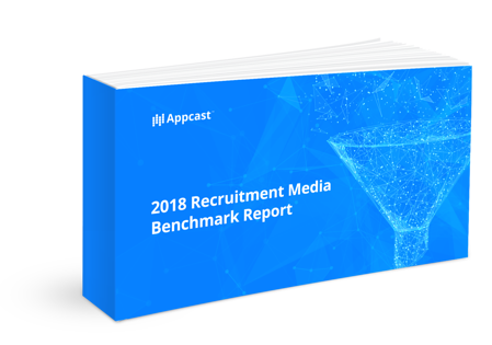 2018 Recruitment Media Benchmark Report Cover