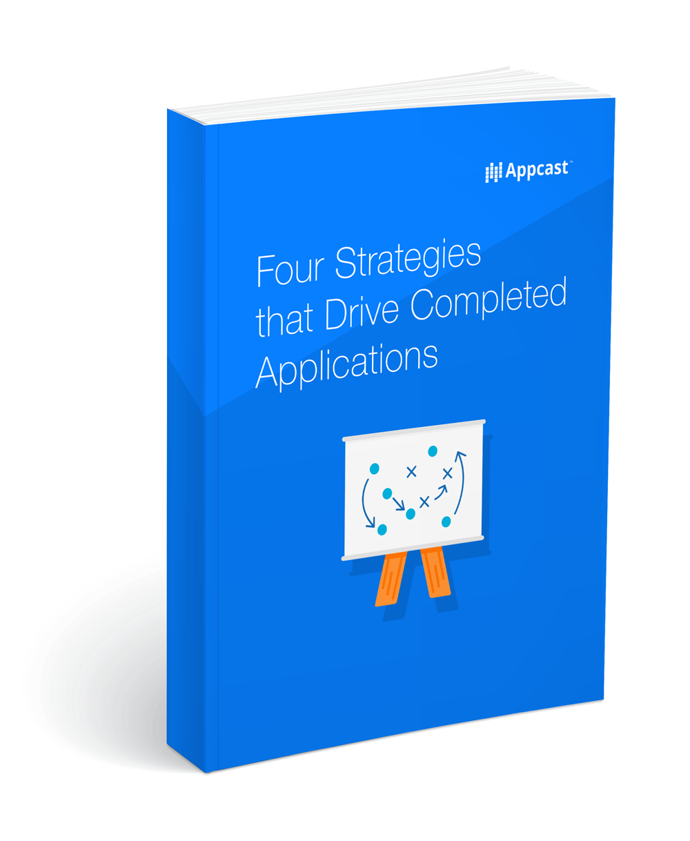 Four Strategies that Drive Completed Applications
